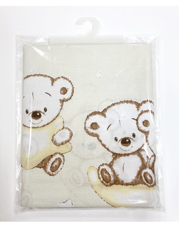 "LORITA patalynės komplektas ""Bear"", medvilnė, art. 1433"