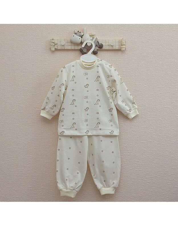 """LORITA 2 d. pižama """"Mini zoo"""", medvilnė, art. 316G"""