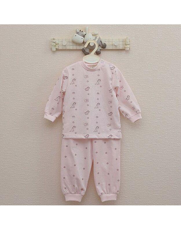 """LORITA 2 d. pižama """"Mini zoo"""", medvilnė, art. 316R"""