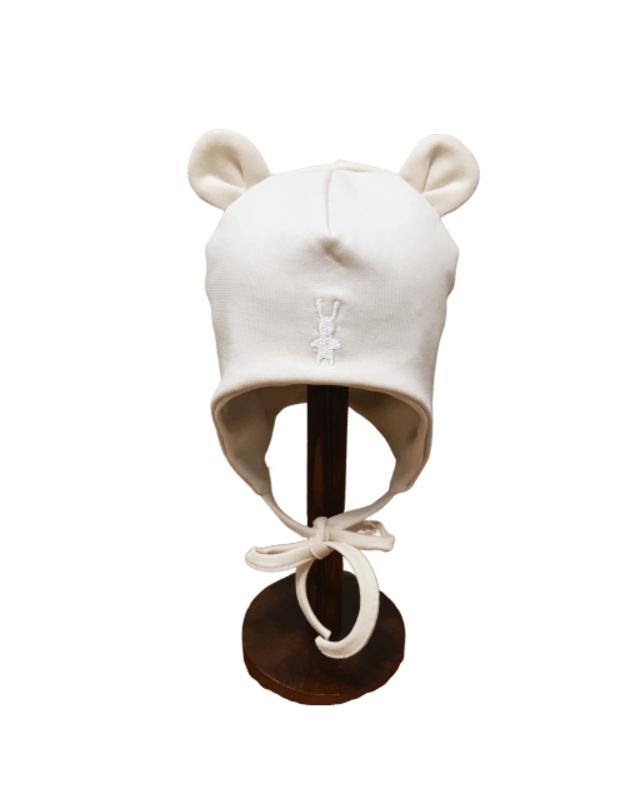 "LORITA kepurė ""Pinolo"" , medvilnė, ecru, art. 418E"