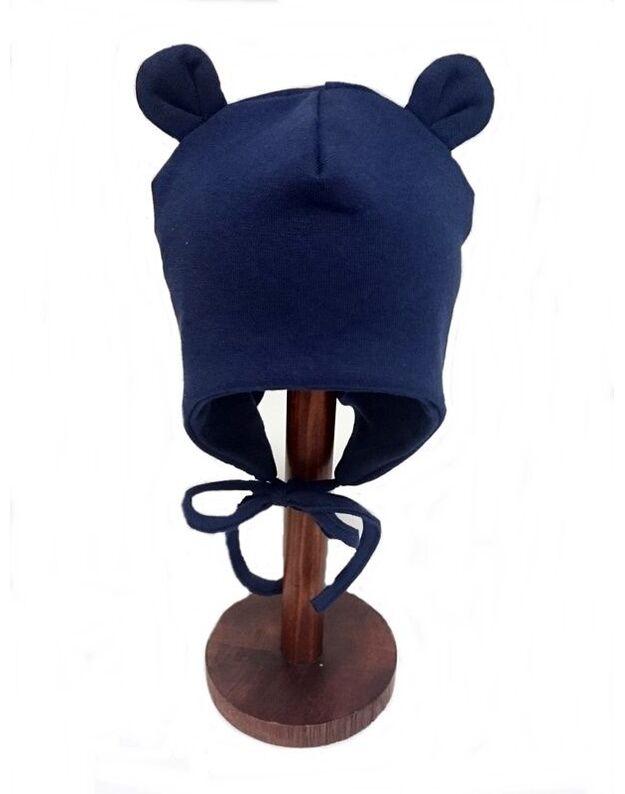 LORITA kepurė, medvilnė, mėlyna, art. 418M