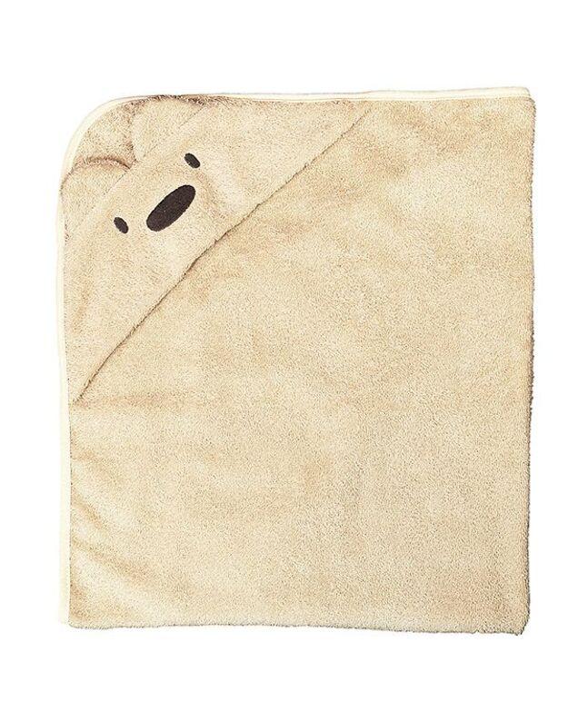 "LORITA rankšluostis su gobtuvu ""Bear"", medvilnė, art. 1656"