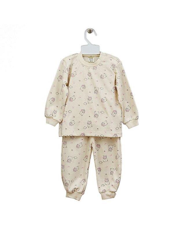 "LORITA 2d. pižama ""Lili"", ekologiška medvilnė, 116 cm,  art. 316"