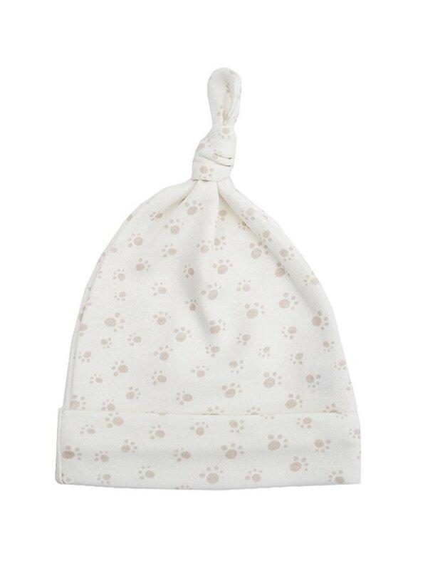 LORITA kepurė su mazgeliu , medvilnė, art. 1820