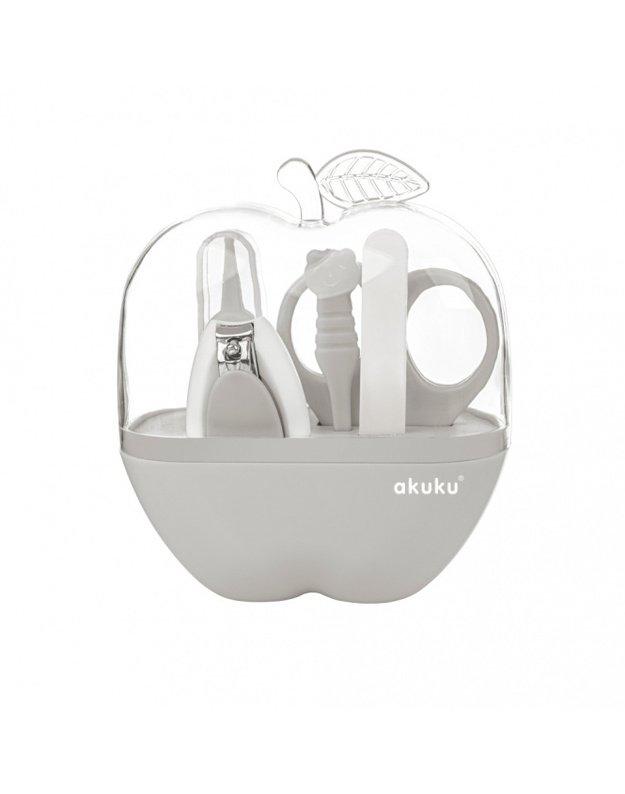 Akuku kūdikių priežiūros rinkinys obuolio dėžutėje, A0473-GREY